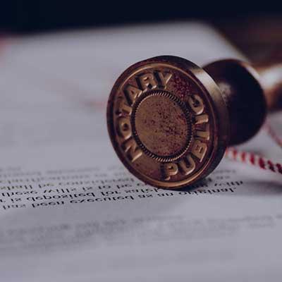 Kancelaria notarialna. Usługi notarialne protokół notarialny